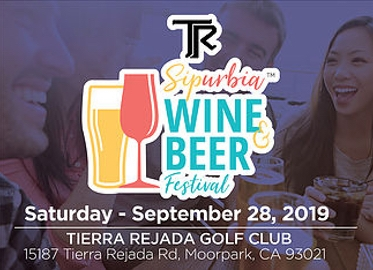 SIPURBIA! New September Date! $25 For Admission to Sipurbia Wine and Beer Festival at Tierra Rejada Golf Club in Moorpark Benefitting The Boys and Girls Club! Tastings From Dozens of Wineries and Breweries