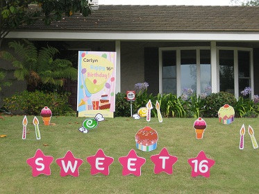 Lawn Cards By Sweet Yard Tweets Unique Way To Say Happy Birthday